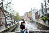 Marriage proposal within the Historium in Bruges // Jason and Ashka – Engagement and…