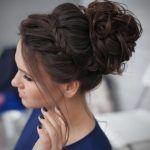 Frisurentrends – 6 schicke geflochtene Hochsteckfrisuren für mittellange …   – Haare