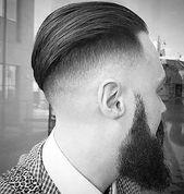 Skin Fade Haircut für Männer – 75 scharfe maskuline Styles #haircut #manner  – Bart