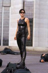 The Matrix. (Costume designer Kym Barrett). Nice use of fabric to soak up and …