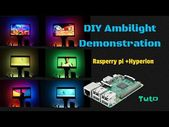 DIY Prolonged Ambilight demonstration