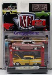 M2 Machines New 1:64 AUTO-HAULERS Release 22 White 1957 Dodge COE /& 1969 Plymouth Road Runner HEMI Diecast Model Car