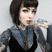 65 + unerwartete einzigartige Gesicht Tattoo Designs & Ideen – amüsieren Sie sich (2018   – black is beautiful