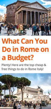 19 Low-cost or Free Issues to Do in Rome – Italy on a Funds