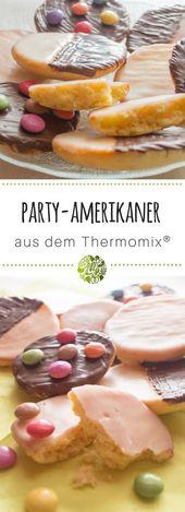 Party-Amerikaner aus dem Thermomix® – Thermomix Backen süss