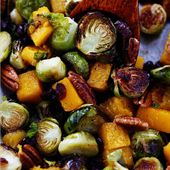 Maple Roasted Brussels Sprouts and Butternut Squash | The Recipe Critic   – Vegetables and salads