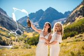 Intimate Elk Mountains wedding in Aspen, Colorado