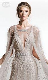 jillian + 2019 + braut + ärmellos + mit + riemen + tiefem + v-ausschnitt + voll + verschönerung + elegant …   – Beach wedding dresses