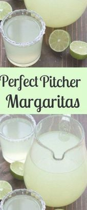 Perfect Pitcher Margarita recipe for a crowd. All you need is fresh lime juice, …