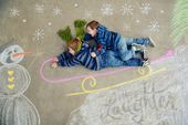 Christmas Sidewalk Chalk Art   – Sidewalk Chalk Art