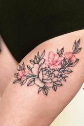 21 tatouages à l'encre rouge uniques qui se démarquent   – tattoo