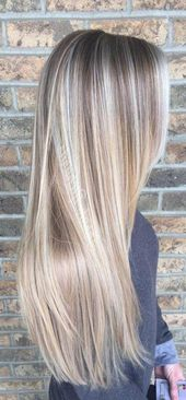 37+ Trendy Hair Color Highlights Low Lights Ideas Blonde Balayage #balayagehairb…