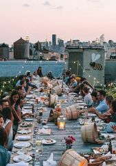 This dinner party in NYC, to which I'm honestly quite angry, was not invited …