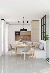 Klein gestaltete Küche: 100 Modelle, die Sie begeistern werden