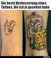 Die beste Verbesserung eines Tattoos, die ich je gesehen..