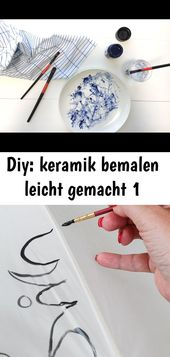 Diy: painting the ceramic made easy 1