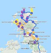Vakantieplanning zomervakantie naar Schotland