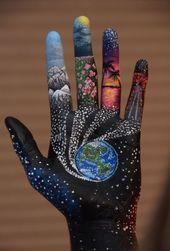 Die ganze Welt in der Hand. #Könnten #Sie #noch # sich #den #Schönheitstyp # vorstellen, #nur…