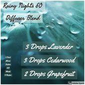 Rainy Nights Diffuser Blend Recipe  – Doterra