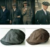 (Sponsored)eBay – Mens Newsboy Beret Cabbie Hats Peaky Blinders Herringbone Gats…