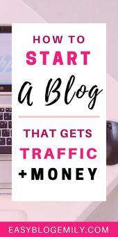 Starten Sie ein Blog im Jahr 2019 (die ultimative kostenlose Anleitung)   – Blogging