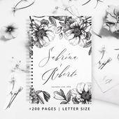 Wedding Planner Book | Wedding ebook | Wedding Planner Organizer | Wedding Planner | Wedding Planner Printable | Wedding Organizer