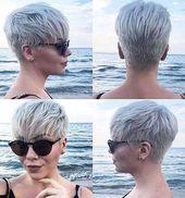 Pixie Short Hairtyles Hair #Kurzpixelschnitt #Jungenpixelschnitt