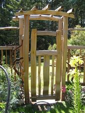 Garden gate build yourself – 40 great examples! – Archzine.net