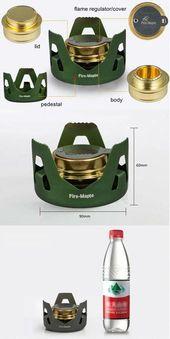 Avdunstning Alkoholspis Portable Mini Spirit Burner Vandring Camping – GhillieSuitShop