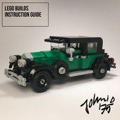 1928 CADILLAC 341A STADT SEDAN – AL CAPONE von Johnni D #LEGO rebrickable.com / …   – LEGO Custom Creations