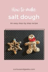 Easy salt dough recipe: How to make salt dough