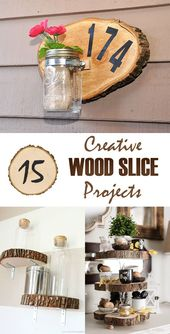 #creative #projects #slice #wood #your #home