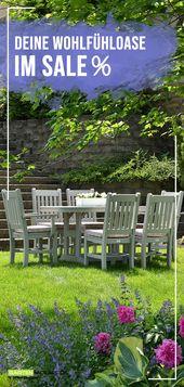 💸 SALE! Stell dir jetzt eine Wohlfühloase für deinen Garten günstig zusammen.
