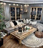 50 Bohemian Living Room Decoration Ideas #LivingRoomDecor #LivingRoomIdeas