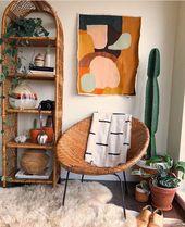 décor à la maison | décoration de maison | fashion bohème | meubles en rotin |…