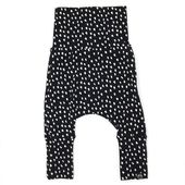 Evolo Grow mit Baby Harem Pants Dots auf Schwarz   – Harem pants collection