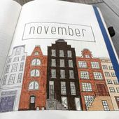 25 Stunning November bullet journal ideas and cover pages
