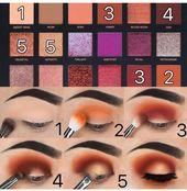 Step by Step Eyeshadow Tutorial using the Desert Dusk Palette by HudaBeauty