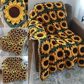 I made this using a modified pattern from momsloveofcrochet… 🌻 it's made up…