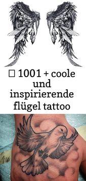 ▷ 1001 + coole und inspirierende Wing Tattoo Designs und ihre Vorhersagen 52 – Tattoos