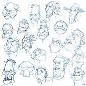 Freie Zeichnung – Gesicht Thumbnail #soonsangworks #sketching #sketch #drawing #doodle