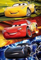 Disney Pixar Cars McQueen Storm Ramirez 3D Lenticular Card. Premium Greeting Cards & Gift.