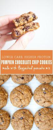 Macro Friendly Pumpkin Chocolate Chip Cookies
