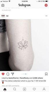 Tattoo kleine Rippe Blume 32+ Ideen für 2019
