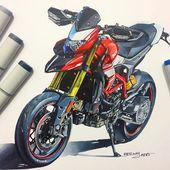 #ducati #hypermotard #italian #motorcycle #design #ske
