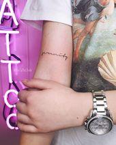 Mini-Tattoo von Yana ❤️ ❤️ Nearest kostenlos