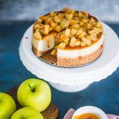 Instant Pot Caramel Apple Cheesecake ist ein köstlicher Käsekuchen mit Zimt …   – Instant Pot