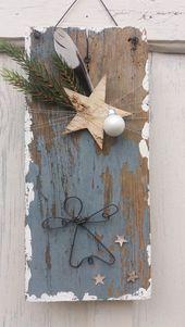 """Weihnachtsdeko – Schild """"Drahtengel """" – ein Design…"""