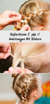 Braided Braids // Instructions With Pictures