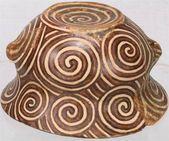 7,000 years ago, Neolithic optical art flourished